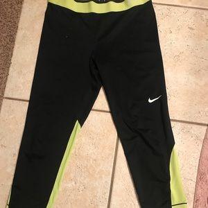 Nike cropped workout leggings.